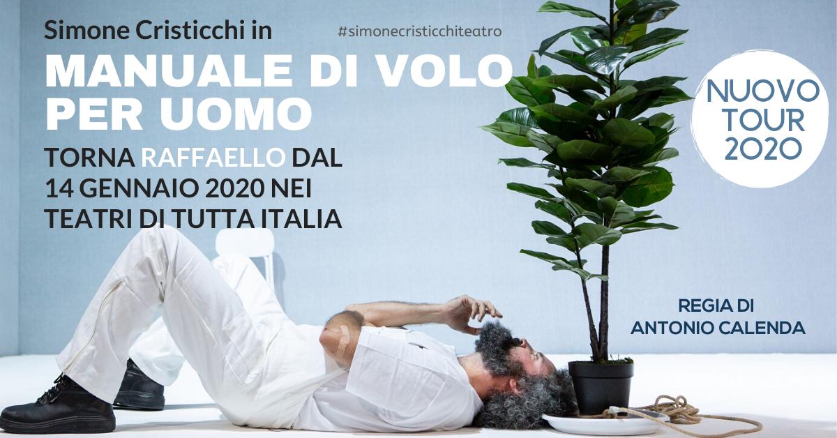Simone Cristicchi - Manuale di Volo per Uomo - Tour 2020