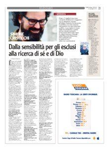 Simone Cristicchi - Libro Toscana Oggi