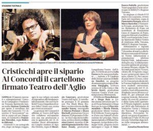 Simone Cristicchi - Happynext a Campiglia - Stagione teatrale